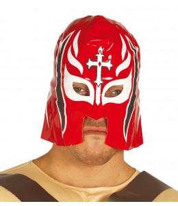 Mascara Lucha Roja