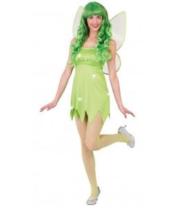 Disfraz de Campanilla Verde