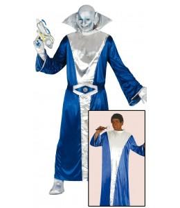 Disfraz de Extraterrestre Azul