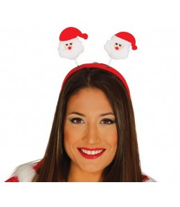 Diadema Papa Noel