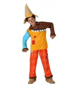 Disfraz de Espantapajaros Infantil