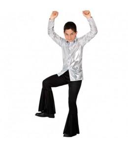 Disfraz de Disco Plata Infantil