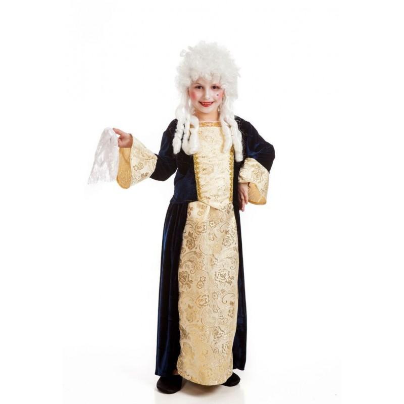 Comprar disfraz de marquesa infantil por solo for Disfraces de epoca