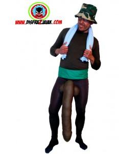 Disfraz de Negro del Whatsapp de Bilbao
