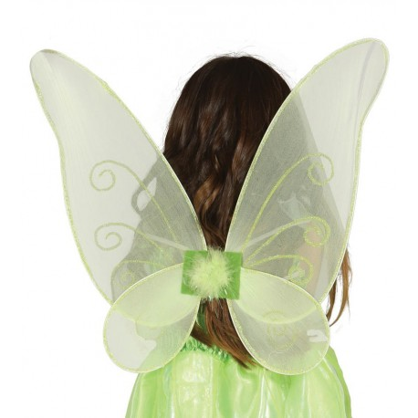 Alas de Mariposa Verdes
