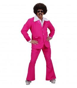 Disfraz Disco Party Rosa