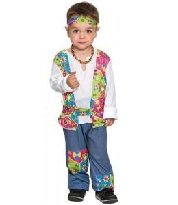 Disfraz de Hippie Peace Niño Bebe