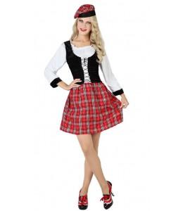 Disfraz de Escocesa