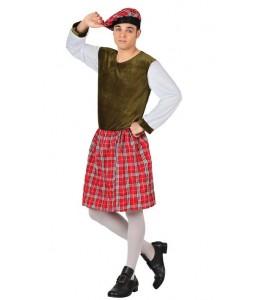 Disfraz de Escoces Verde