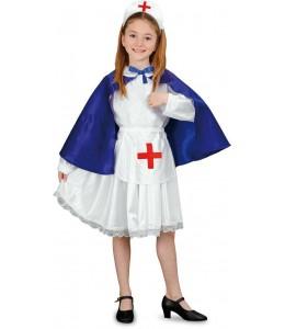 Disfraz de Enfermera Azul