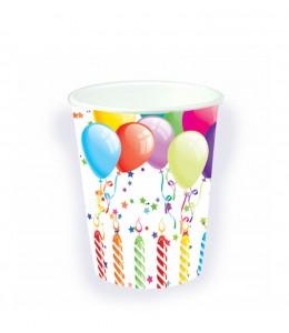 Vasos de Cumpleaños Globos