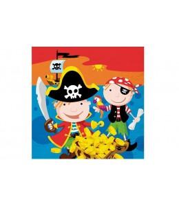 Servilletas Cumpleaños Tesoro Pirata