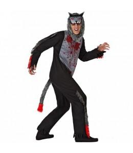 Disfraz de Lobo Sangriento
