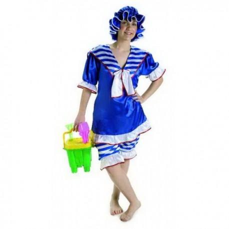 Disfraz de Bañista Chica Años 20