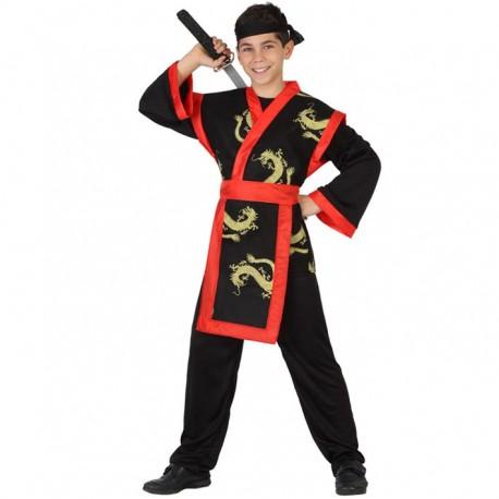 disfraz karateca mujer