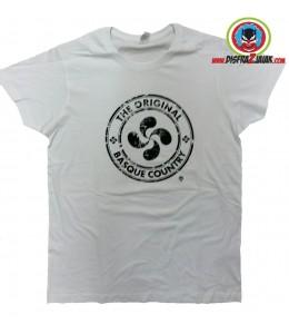 Camiseta de Lauburu Original Blanca