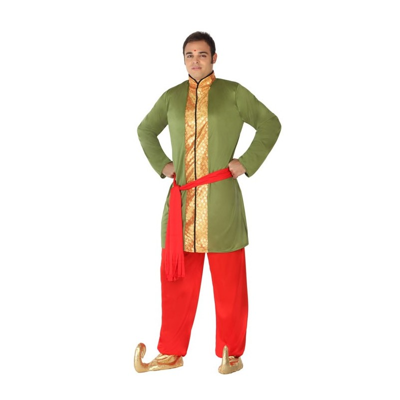 Disfraz de Hindu Verde