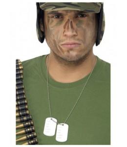 Collar Placas Militares