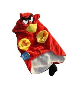 Disfraces para Perros de Angry Birds Rojo