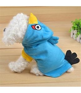 Disfraz para Perros de Angry Birds Azul