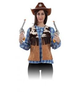Chaleco de Vaquero Vaca Mujer