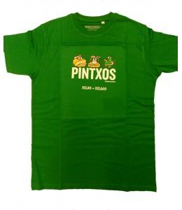 Camiseta Kukuxumuxu Pintxos