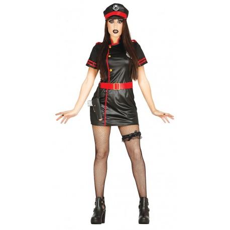disfraz mujer nazi
