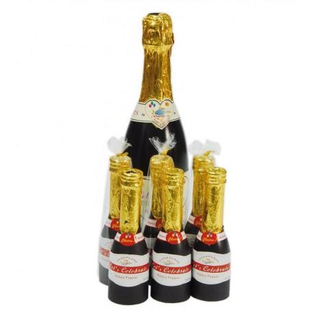 Botella Champan Confeti