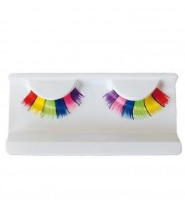 Pestañas Multicolor