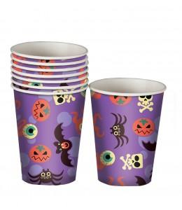 Vasos de Halloween Morados