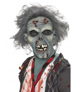 MAscara de Zombie Gris