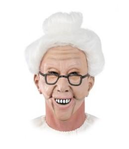 Mascara Abuela con Pelo