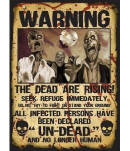 Set 2 Letreros Warning