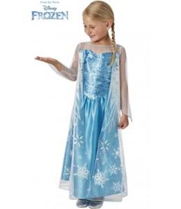 Costume d'Elsa avec Couche Classique de l'Enfant