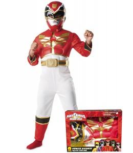 Power Ranger Rojo Infantil en Caja