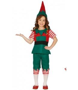 Disfraz de Elfa Infantil