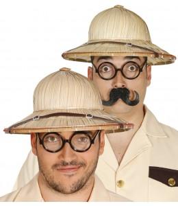 Sombrero Salacot de Paja