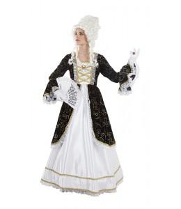 Disfraz de Marquesa Negro