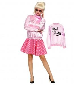 Disfraz de Pink Ladies Lunares Rosa