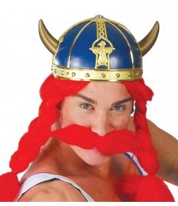 Casco Vikingo Azul