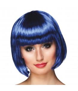 Peluca Cabaret Azul