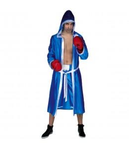 Disfraz de Boxeador Azul