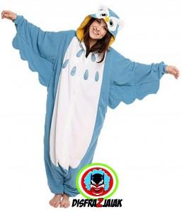 Disfraz de Buho Pijama
