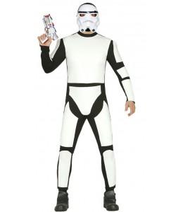 Disfraz de Soldado Espacial Mascara