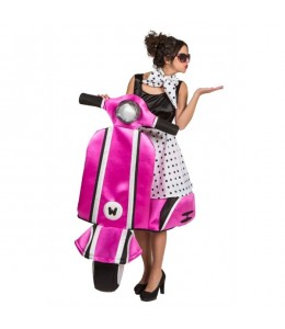 Disfraz de Chica Montada en Moto
