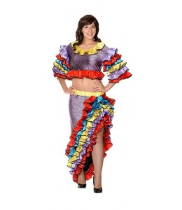 Disfraz de Cubana