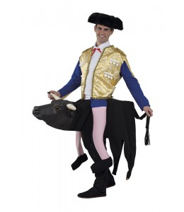 Disfraz de Torero sobre Toro