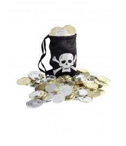 Bolsa Pirata con Monedas