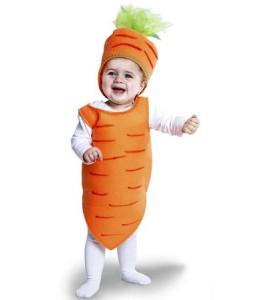 Disfraz de Zanahoria Bebe