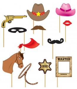 Set de Photocall Cowboy